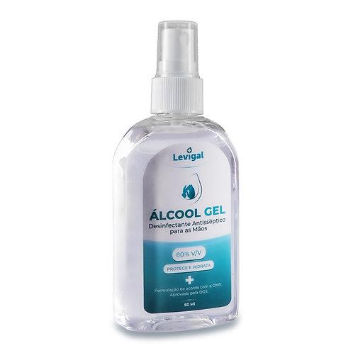 Álcool Gel Pocket Spray Levigal 50 ML (50 unidades) (IVA Incluído)
