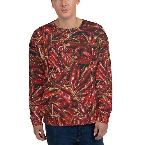 "Unisex Sweatshirt ""Hot Peppers"""