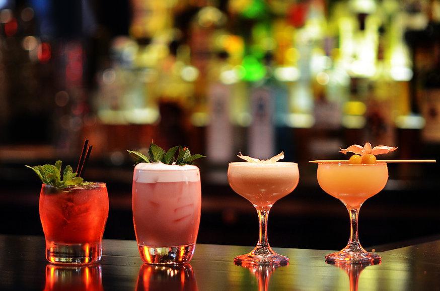 Cocktails in Miami