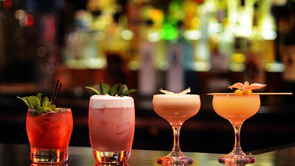 Bartender for 4 hours Deposit