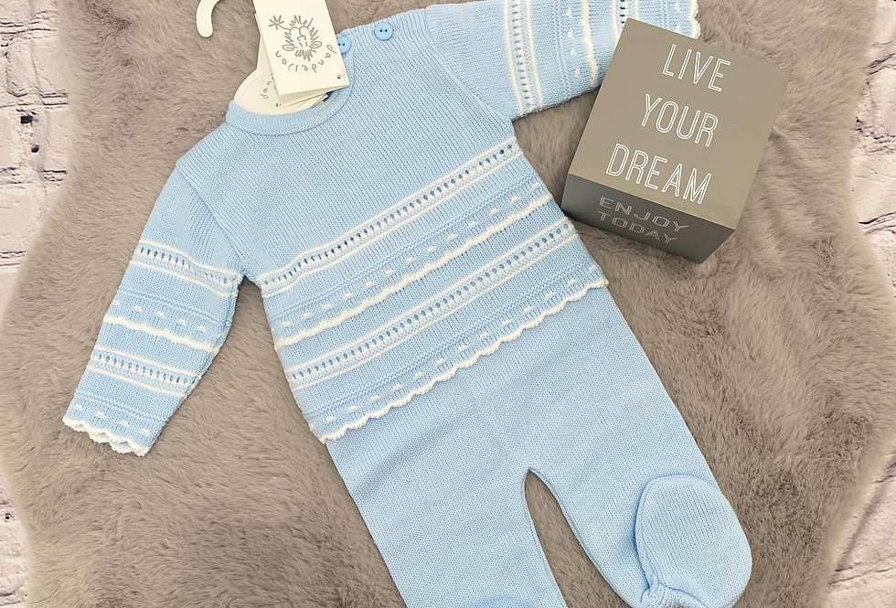 Boys, Knitted, Top & Trouser Set