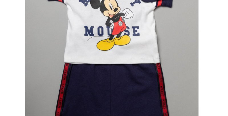 Baby Mickey Mouse T.shirt, trousers and bib