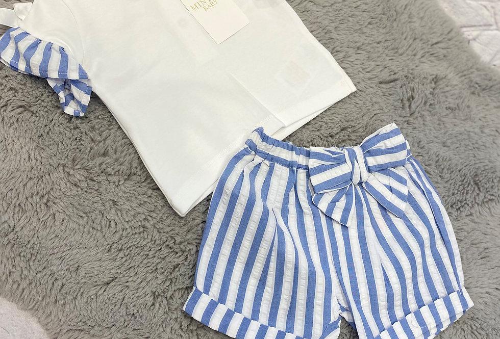 Mintini Sailor T Shirt & Shorts
