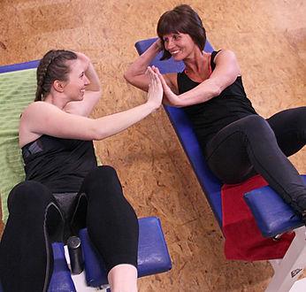 Training für Kinder und Erwachsene