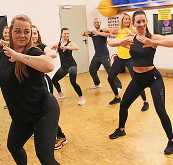 Zumba im Fit and Fun