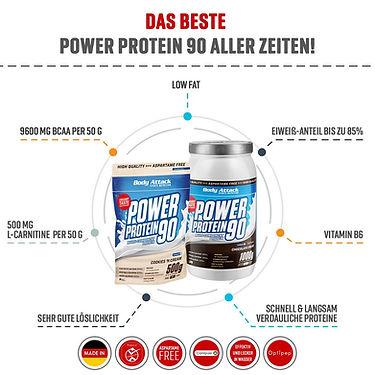 Protein Pulver für Eiweiß Shakes