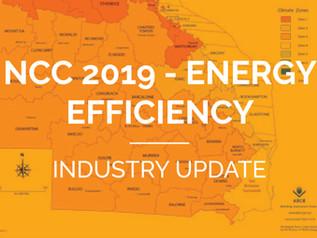 NCC 2019 - Energy efficiency updates