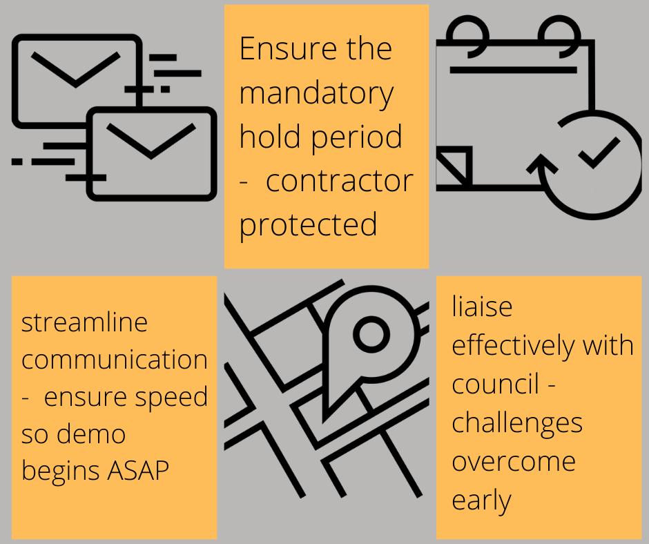 three contractor tips demo permits