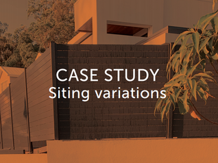 Case Study - detailed plans save hassle down the line.