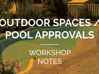 Bespoke outdoor spaces - workshop insights
