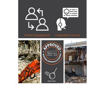 online engagement contactless demolition approvals image