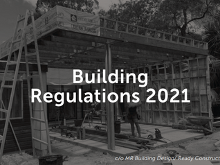 Building Regulations 2021- advice you can build on