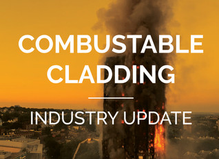Industry update - combustible cladding