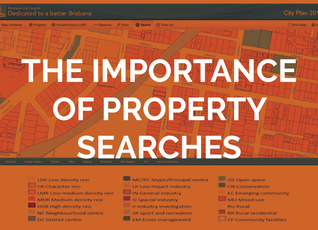 The importance of property searches