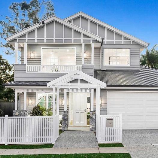 Hamptons design house Brisbane