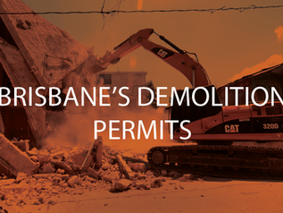 The best way forward for Brisbane's demolition permits