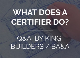 What does a certifier actually do?