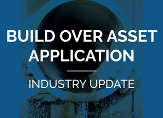 How the Build Over Asset application process is set to change