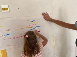 grand jeu parcours du peintre 3-5 ans