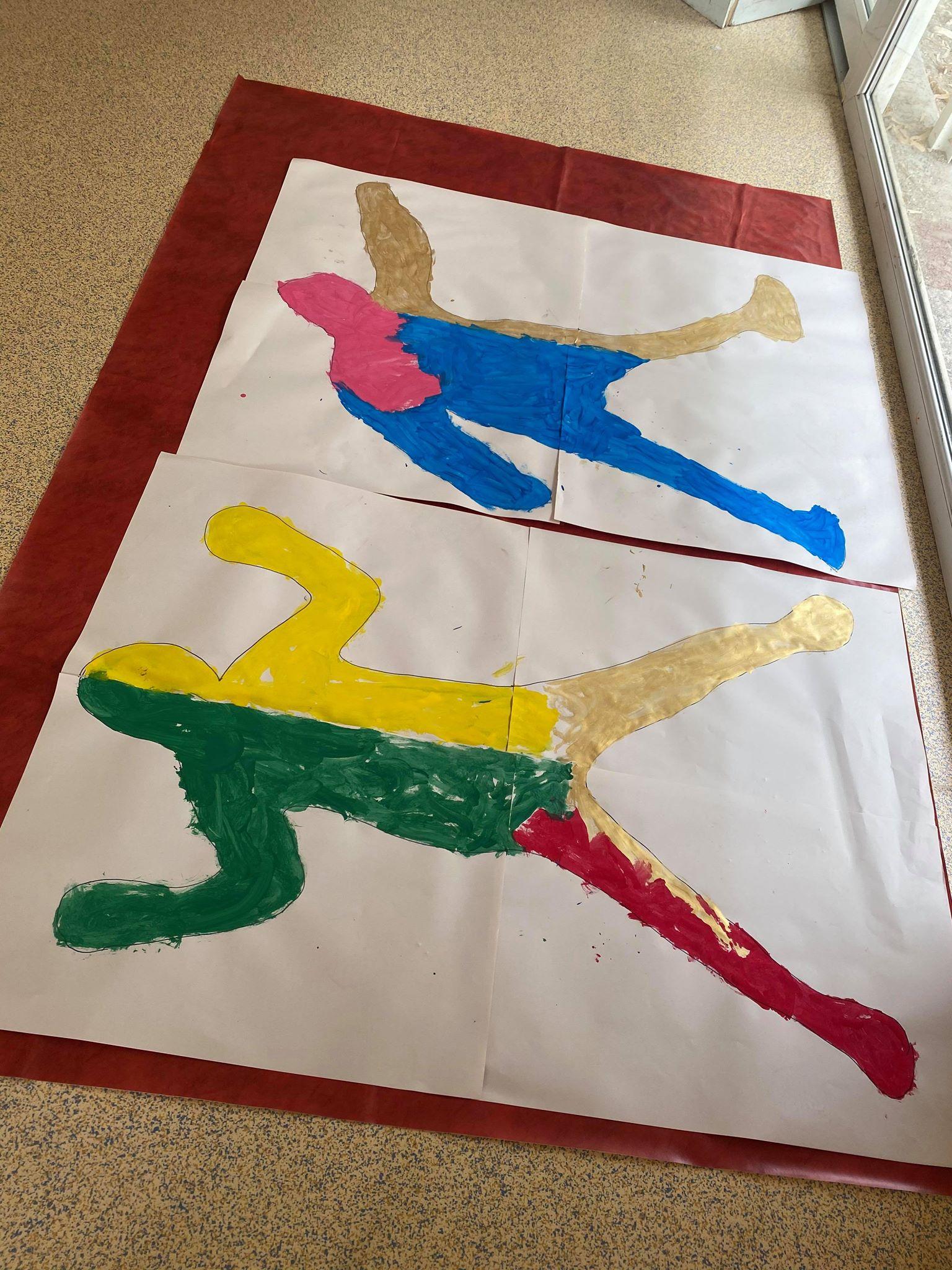 activité peinture 3-5 ans