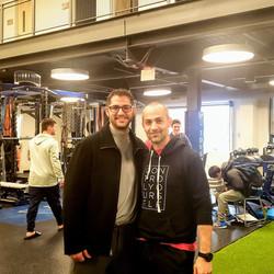 Michael Katz & Dr. Spina