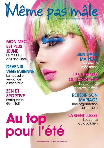 Coverture du magazine Même pas mal n°15