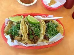 Tacos de Res for one person