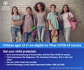 children eligible for covid-19 vaccine pfizer winnebago county