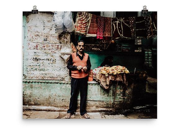 Varanasi Vendor Print