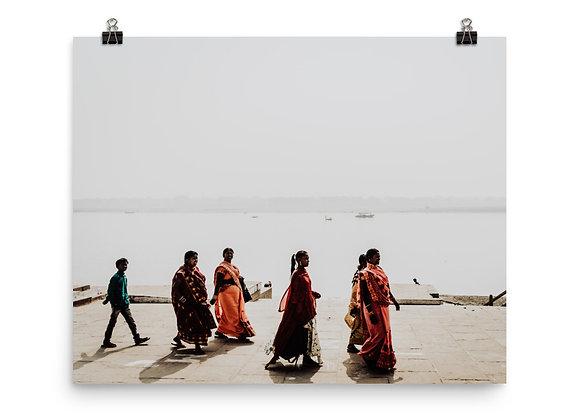 Ganges Strut Print