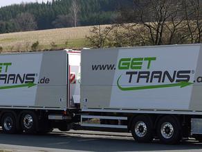 Mit uns unterwegs, die Gettrans GmbH!
