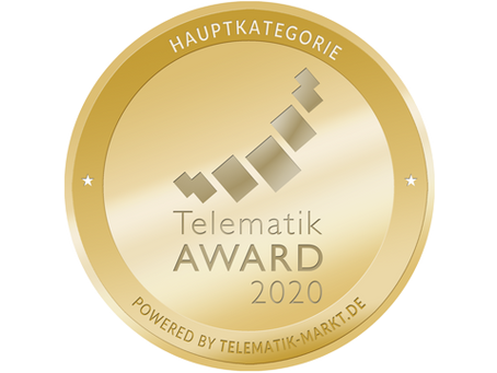 Telematik Award 2020 geht an Webfleet EV!