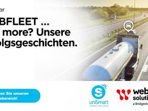 uniSmart Erfolgsgeschichten mit Webfleet solutions