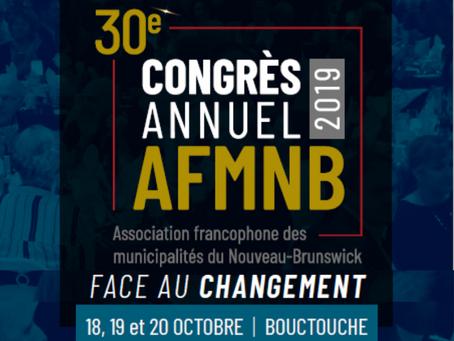 Rapport annuel 2019 - 30e Congrès annuel: Face au changement