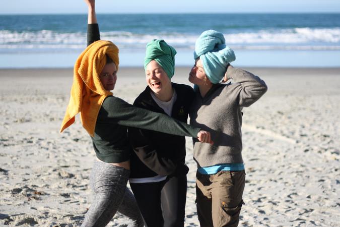 "Spirit of OUTC - ""Three Mermaids Post-Swim"""