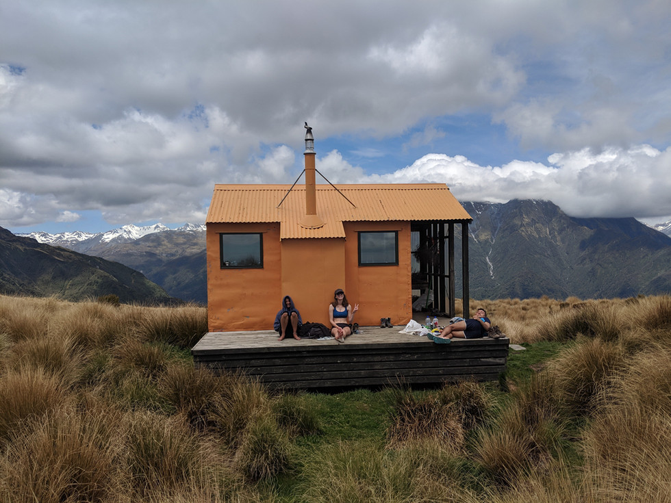Mt Brown Hut (More like 'Steep as Fuck Hut')
