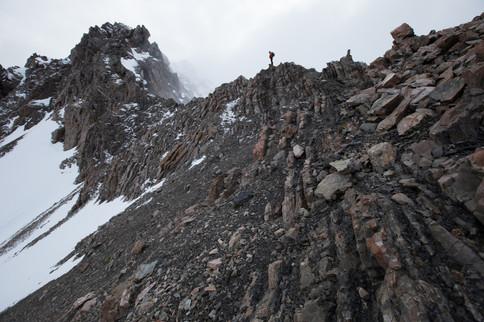 """Above the bushline - """"Temple Ridge"""""""