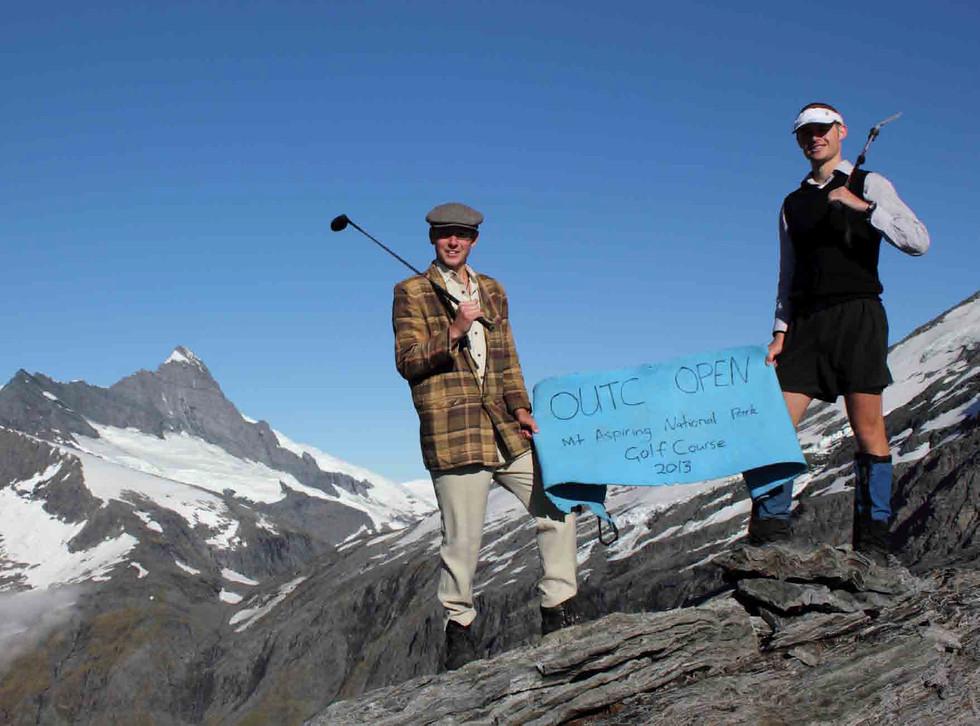 Golfing in Mt Aspiring National Park