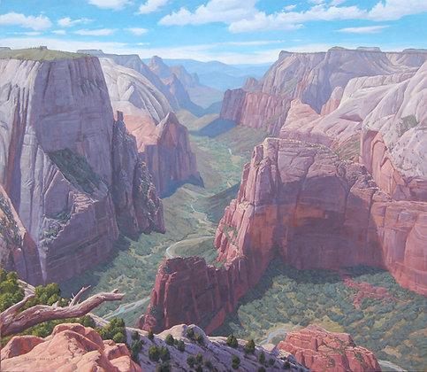 Zion Canyon 8 x 10 print