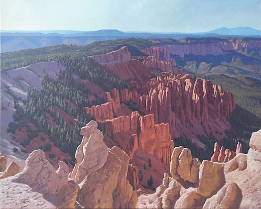 View of Bryce Canyon              8 x 10 print