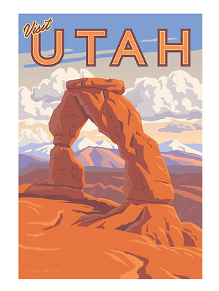 Delicate Arch 18 x 24 Poster