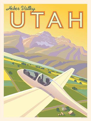 Heber Valley Utah Vinyl Sticker