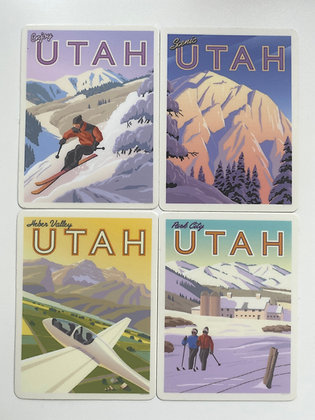 Northern Utah Vinyl Sticker Series