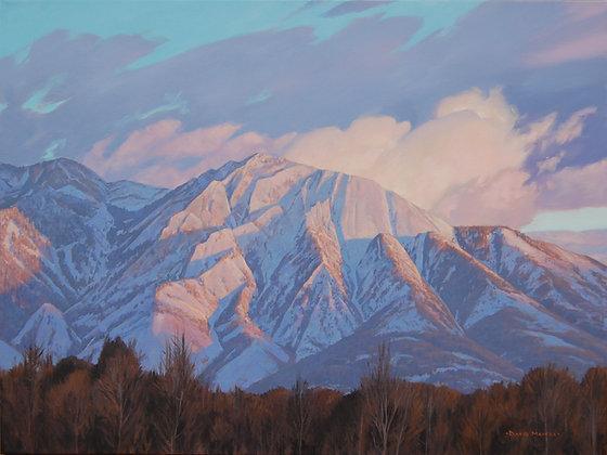 Mt Olympus Snow                 8 x 10 print