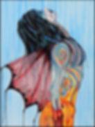 Patricia Srigley, Rain  20_ x 16_, $350.
