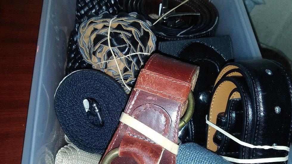 Belts $5 Each