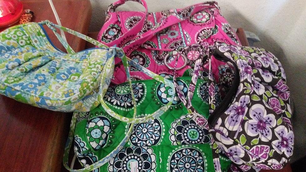 Vera Bradley 4 Bags $55 Each