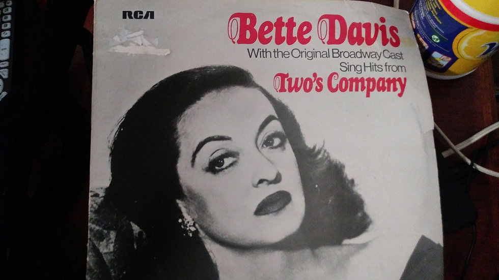 Bette Davis Record Album