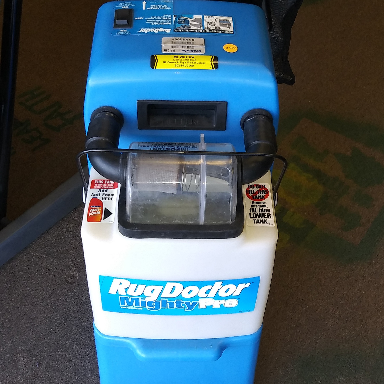 Rent the Rug Doctor Mightypro (24 hours)