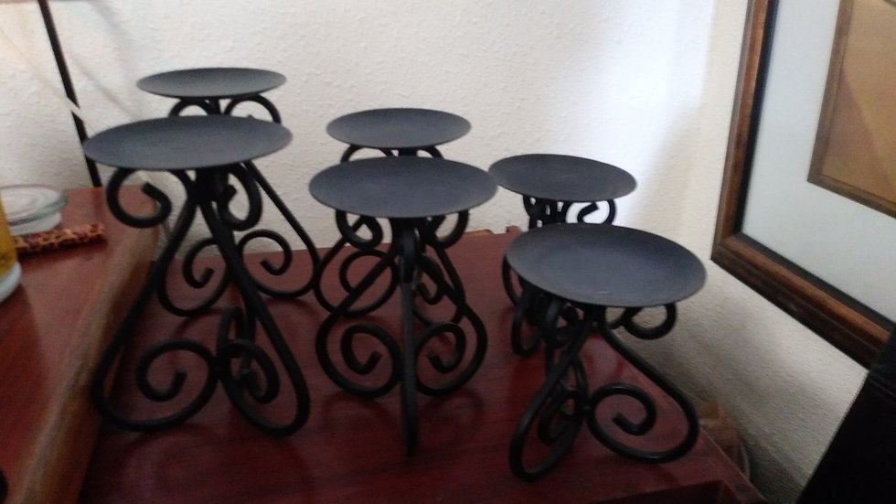 Candle holders 6 total